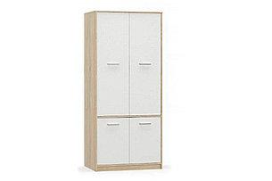 Шкаф для одежды 4Д  (4Д) Типс, Белый, MEBEL SERVICE (Украина), фото 2