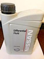 Масло трансмисионное Nissan Differential Fluid 80W90 1 литр