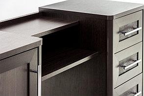 Стол туалетный (1Д4Ш), Венге, коллекции Токио, MEBEL SERVICE (Украина), фото 2