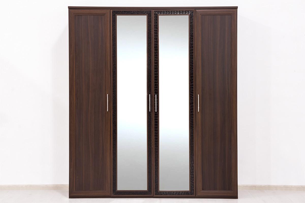 Шкаф для одежды  4Д  коллекции Тоскана, Дуб Тортона, Кураж (Россия)