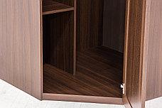 Шкаф для одежды угловой  1Д  коллекции Тоскана, Дуб Тортона, Кураж (Россия), фото 3