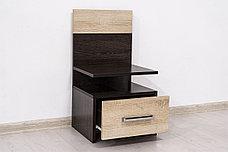 Шкаф для одежды 4Д как часть комплекта Уют 1, Дуб Сонома, Горизонт (Россия), фото 3