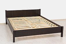 Кровать двуспальная, коллекции Фантазия, Венге, MEBEL SERVICE (Украина), фото 3