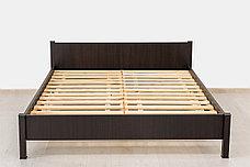 Кровать двуспальная, коллекции Фантазия, Венге, MEBEL SERVICE (Украина), фото 2