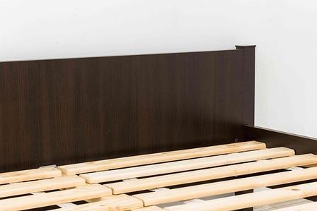Кровать односпальная (90), коллекции Фантазия, Венге, MEBEL SERVICE (Украина), фото 2