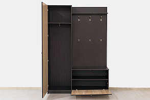 Шкаф прихожая 2Д коллекции Фантазия, Дуб Самоа, MEBEL SERVICE (Украина), фото 2