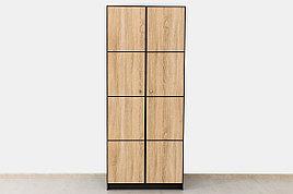 Шкаф для одежды  2Д  коллекции Фантазия, Дуб Самоа, MEBEL SERVICE (Украина)