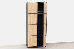 Шкаф для одежды  2Д  коллекции Фантазия, Дуб Самоа, MEBEL SERVICE (Украина), фото 2