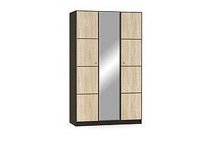 Шкаф для одежды 3Д  (3Д), коллекции Фантазия, Дуб Самоа, MEBEL SERVICE (Украина), фото 2