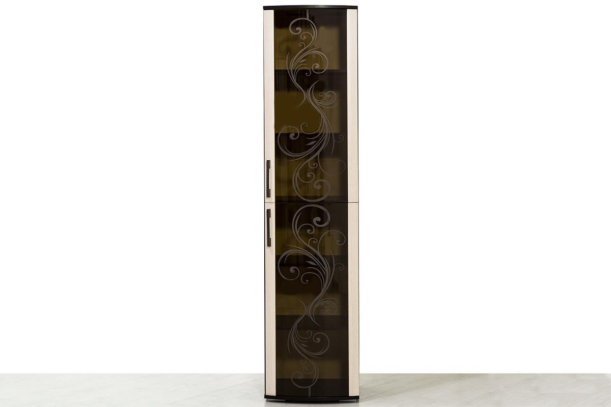 Шкаф пенал  2Д  модульной системы Флоренция, Дуб Атланта, БТС (Россия)