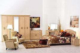 Комплект мебели для спальни Флорис, Клен, MEBEL SERVICE(Украина)