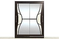 Шкаф для одежды 2Д 16, Дуб Венге, СВ Мебель (Россия)