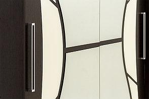 Шкаф для одежды 2Д 16, Дуб Венге, СВ Мебель (Россия), фото 2