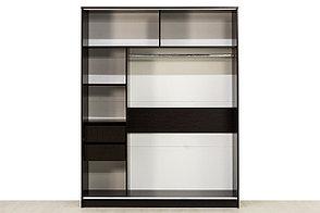 Шкаф для одежды 2Д 16, Дуб Венге, СВ Мебель (Россия), фото 3