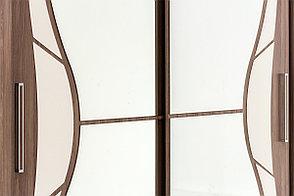 Шкаф-купе 2Д 16, Ясень Шимо темный, СВ Мебель (Россия), фото 3