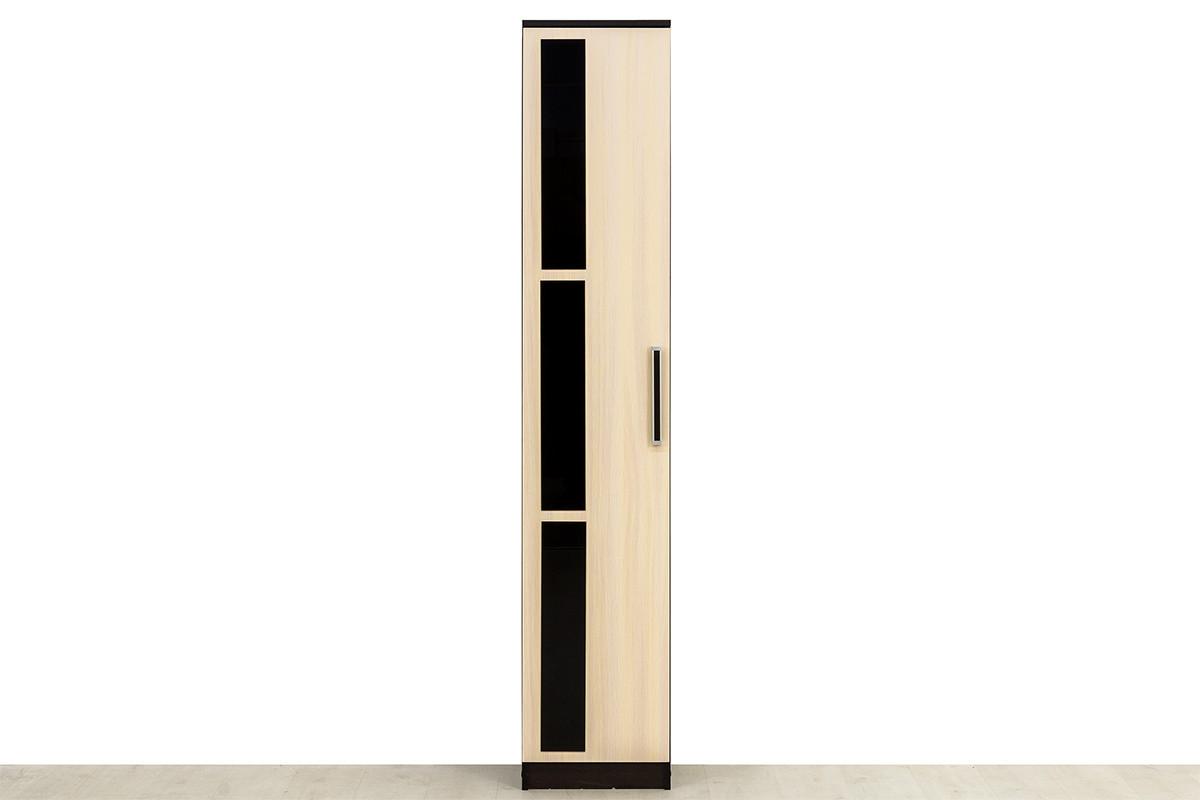 Шкаф пенал 1Д , модульной системы Эдем 2, Дуб Млечный, СВ Мебель (Россия)