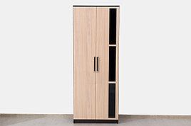 Шкаф для одежды 2Д модульной системы Эдем 2, Дуб Млечный, СВ Мебель (Россия)
