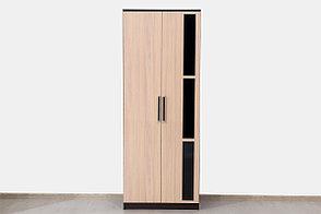 Шкаф для одежды 2Д модульной системы Эдем 2, Дуб Млечный, СВ Мебель (Россия), фото 2