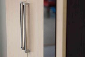 Шкаф для одежды 2Д модульной системы Эдем 2, Дуб Млечный, СВ Мебель (Россия), фото 3