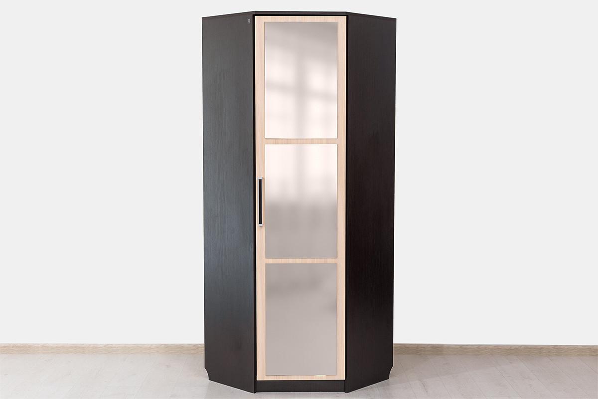 Шкаф для одежды угловой 1Д , модульной системы Эдем 2, Дуб Млечный, СВ Мебель (Россия)