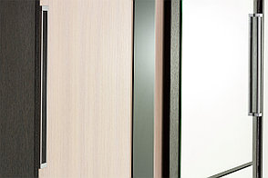Шкаф-купе  2Д  модульной системы Эдем 2, Дуб Млечный, СВ Мебель (Россия), фото 3