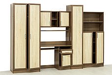 Стол компьютерный, Дуб Сонома как часть комплекта Юниор, Астрид-Мебель (Россия), фото 2