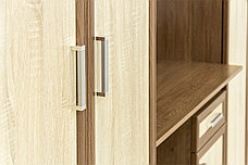Стол компьютерный, Дуб Сонома как часть комплекта Юниор, Астрид-Мебель (Россия), фото 3
