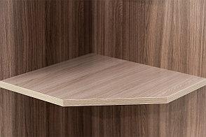 Шкаф стеллаж угловой, модульной системы Город, Ясень Шимо темный, СВ Мебель (Россия), фото 2