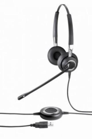 Проводная гарнитура BIZ2400 Duo, STD, NC, Flex boom, 2409-820-104