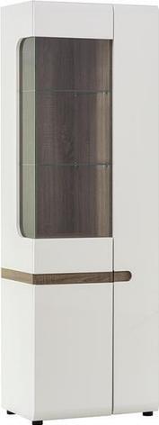 Линате 1 - Комплект для гостиной, Белый/Дуб трюфель, Анрэкс, фото 2