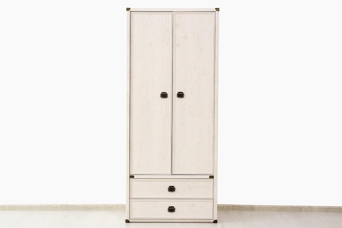 Шкаф для одежды 2Д (Magellan 2DG2S), коллекции Магеллан, Сосна Винтаж, Анрэкс (Беларусь)