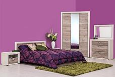 Оливия - Комплект для спальни 1795, 3D, вудлайн кремовый/дуб анкона, Анрэкс, фото 3
