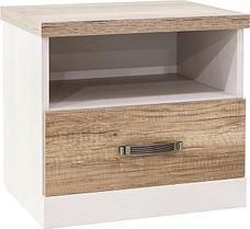 Прованс - Комплект для спальни, 3D, Вудлайн кремовый/дуб кантри, Анрэкс, фото 3