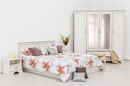 Тиффани - Комплект для спальни 2116, 4D, вудлайн кремовый, Анрэкс