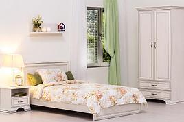 Тиффани - Комплект для спальни 5602, 2D,  вудлайн кремовый, Анрэкс