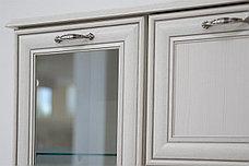Тумба витрина 3Д 1Я (Tiffany 1V2D1S) коллекции Тиффани, Вудлайн Кремовый, Анрэкс (Беларусь), фото 2