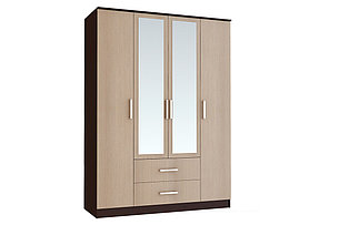 Шкаф для одежды 4Д  Фиеста, Лоредо, БТС (Россия), фото 2