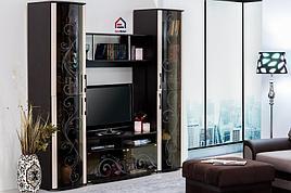 Флоренция - Комплект для гостинной 4038, Венге, БТС Мебель