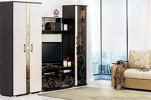 Флоренция - Комплект для гостинной 4039, Венге, БТС Мебель, фото 2
