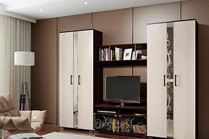 Флоренция 1 - Комплект для гостинной, Венге, БТС Мебель, фото 2