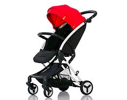 Прогулочная коляска AIMILE Black/Red