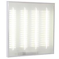 Офисный светодиодный светильник INTEKS Office-36 595х595х40 32Вт 3750Лм 4000/5000К универсальный