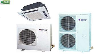 Кондиционер кассетный GREE-48 R410A: GKH48K3HI/GUHN48NM3HO (без соединительной инсталляции)