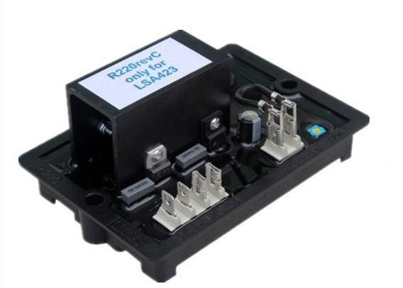 Тип щетки дизельный генератор, автоматический регулятор напряжения 3 фазы R220, фото 2