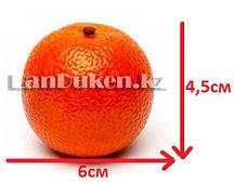 Искусственный фрукт мандарин маленький муляж