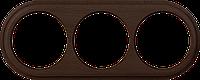 Рамка 3 поста Werkel WL15-frame-03 Legend венге