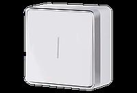 Выключатель одноклавишный с подсветкой Werkel WL15-01-04 Gallant белый