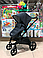 Детская коляска 2 в 1 Nano Baby Black, фото 7