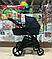 Детская коляска 2 в 1 Nano Baby Black, фото 2