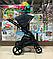 Детская коляска 2 в 1 Nano Baby Black, фото 5